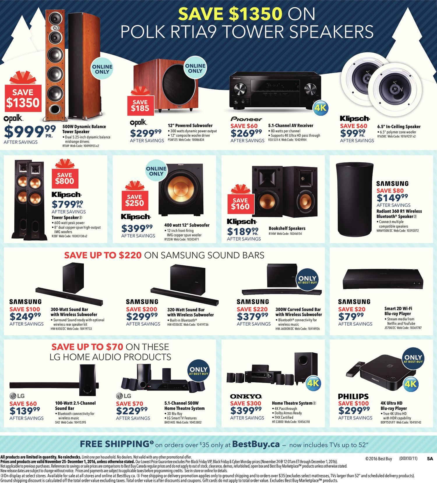 Best Buy Weekly Flyer Black Friday Sale Nov 25 Dec 1 The Imageup To 100w Inverter 12 V 220v Circuit Homepage