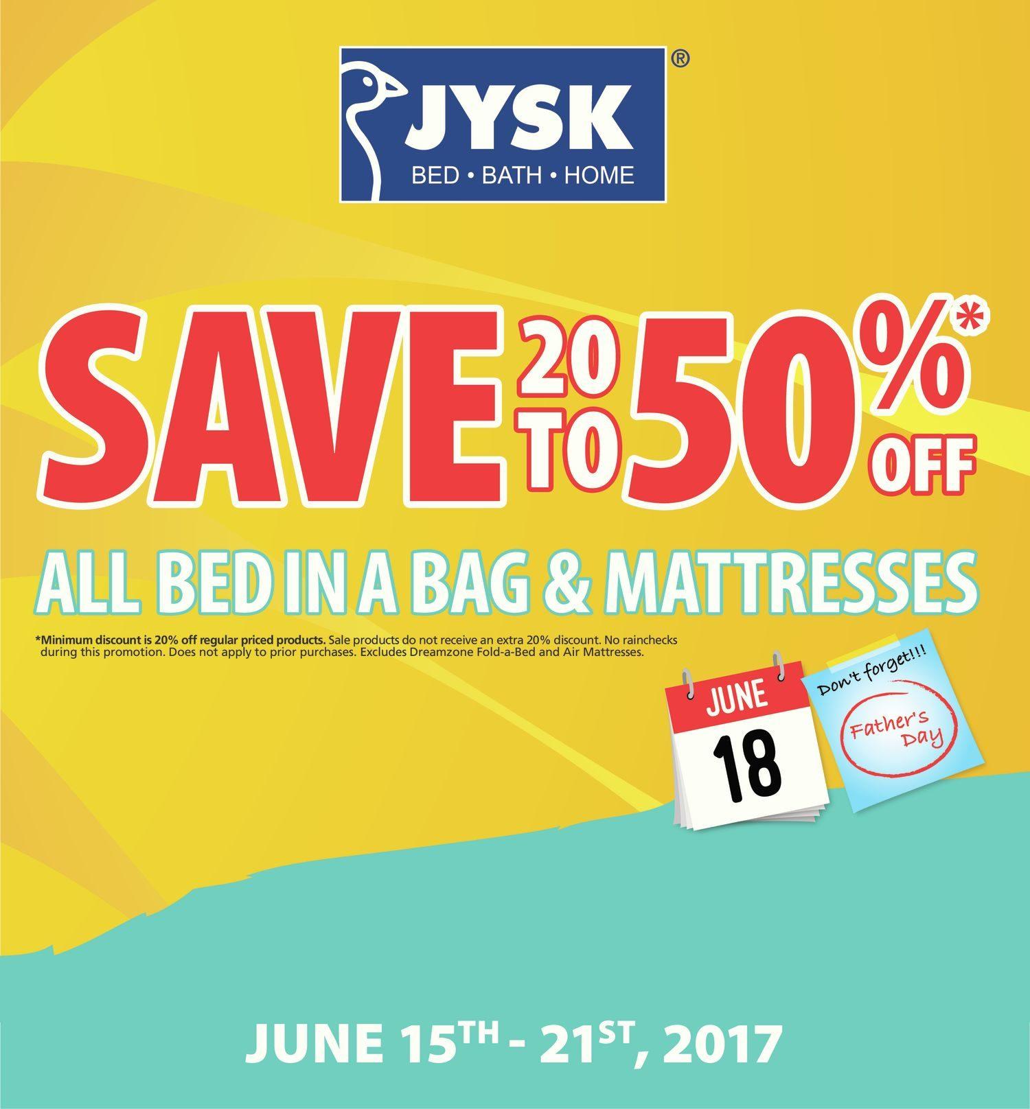 JYSK Weekly Flyer Weekly Jun 15 – 21 RedFlagDeals
