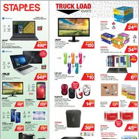 Staples - Weekly - Truckload Event Flyer