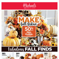 Michaels - Weekly - Make Fall Festive Flyer