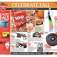 Canadian Tire - Weekly - Celebrate Fall Flyer