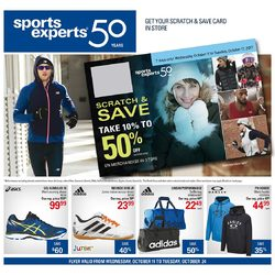 Sports Experts - 2 Weeks of Savings Flyer