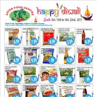 Asian Food Centre - Happy Diwali Flyer