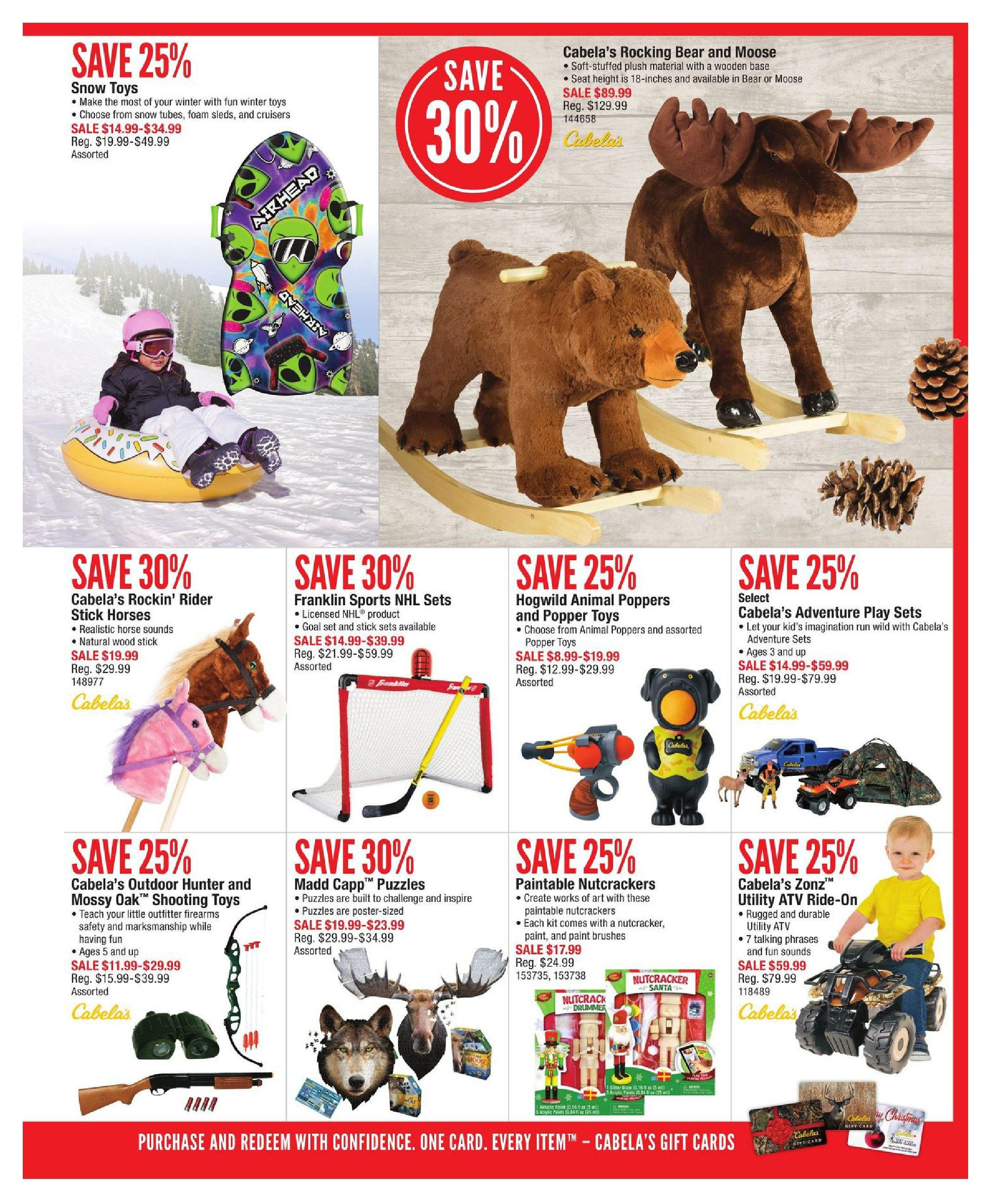 0ad2cf90bf3cf Cabelas Weekly Flyer - Holiday Gift Guide - Nov 2 – 29 - RedFlagDeals.com