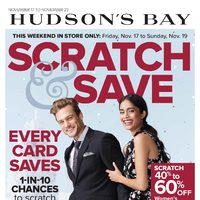 The Bay - Weekly - Scratch & Save Flyer