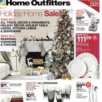 Home Outfitters - Weekly - Holiday Home Sale Flyer