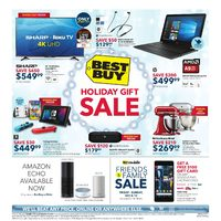 Best Buy - Weekly - Holiday Gift Sale Flyer