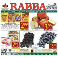 Rabba Fine Foods - Weekly Specials Flyer
