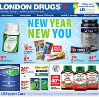 London Drugs - Healthy Lifestyle - New Year, New You Flyer