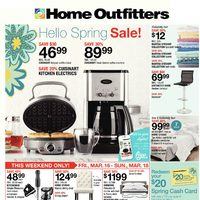 Home Outfitters - Weekly - Hello Spring Sale! Flyer