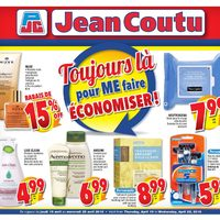 Jean Coutu - Always There to Make Me Save! Flyer