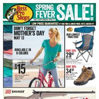 Bass Pro Shops - Spring Fever Sale! Flyer