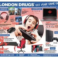 London Drugs - 6 Days of Savings - Get Your Game On! Flyer