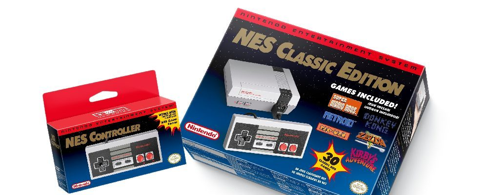 Nintendo Announces Re-Release of Popular NES Classic Edition