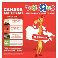 - 8-Day Event - Canada Let's Play! Flyer