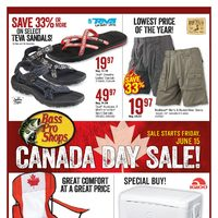 Bass Pro Shops - Canada Day Sale! Flyer