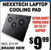 Nexxtech Laptop Cooling Pad