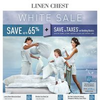 Linen Chest - The White Sale Flyer