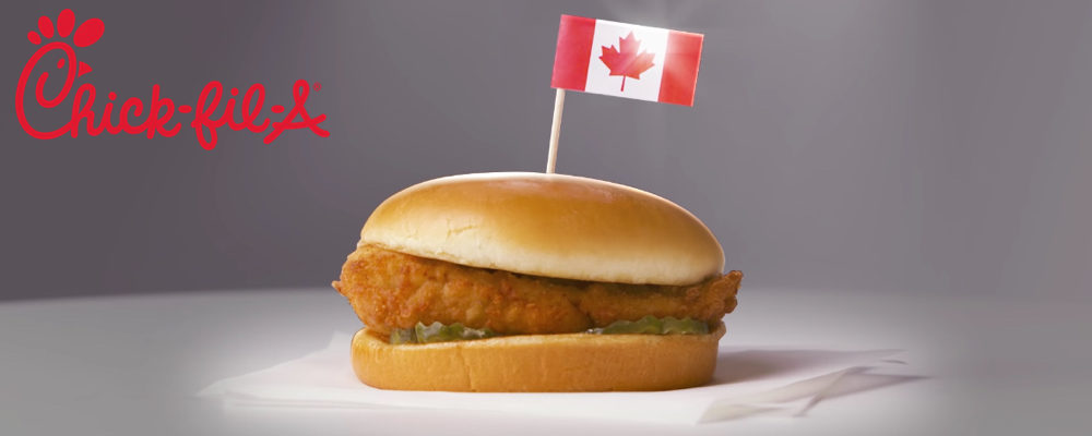 Attention Chicken Fans: Chick-fil-A is Coming to Toronto