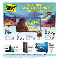 Best Buy - Weekly - Bring Home Galactic Savings Flyer