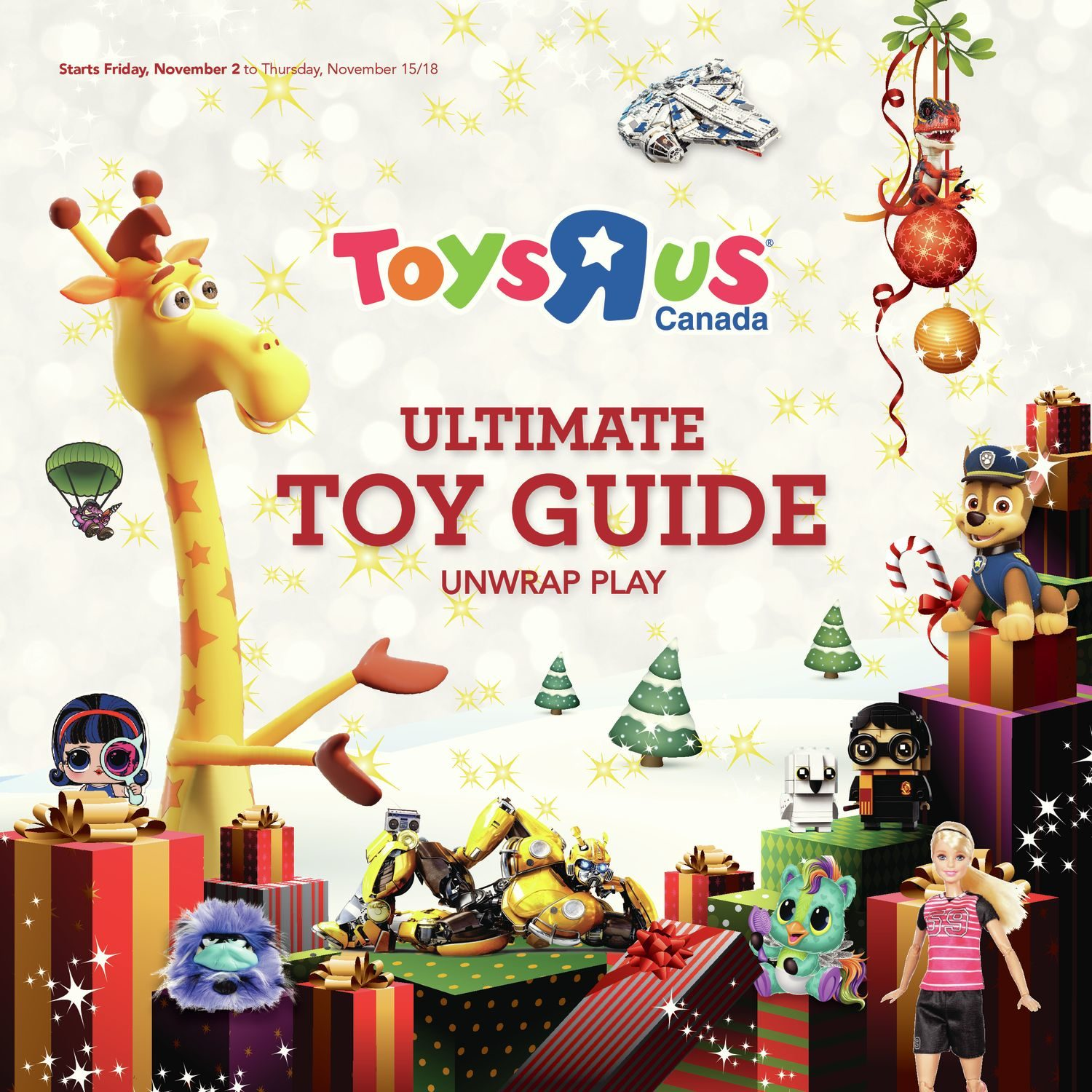 Toys R Us Weekly Flyer - Ultimate Toy Guide 2018 - Nov 2 – 15 ...