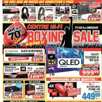 Centre HIFI - Weekly - Boxing Sale in October #2! Flyer