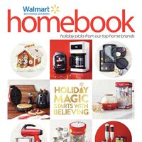Walmart - Homebook - Holiday Magic Starts With Believing Flyer