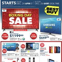Best Buy - Boxing Day Sale Flyer