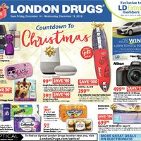 London Drugs - Weekly - Countdown to Christmas Flyer