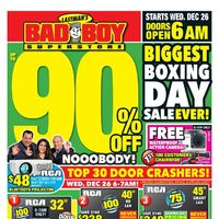 - Biggest Boxing Day Sale Ever! Flyer