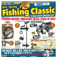 Bass Pro Shops - 2019 Spring Fishing Classic Flyer
