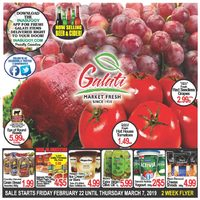 Galati Market Fresh - 2 Weeks of Savings Flyer