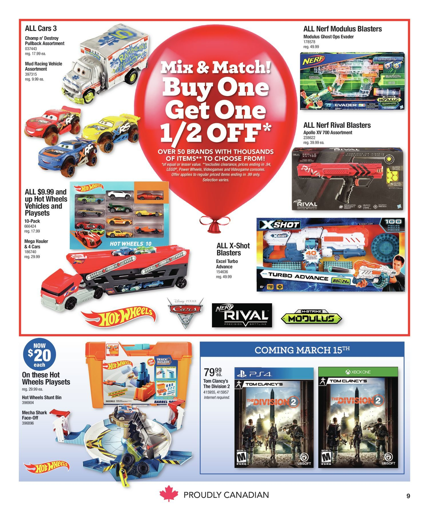 a39847181 Toys R Us Weekly Flyer - 2 Great Weeks! - Mar 8 – 21 - RedFlagDeals.com