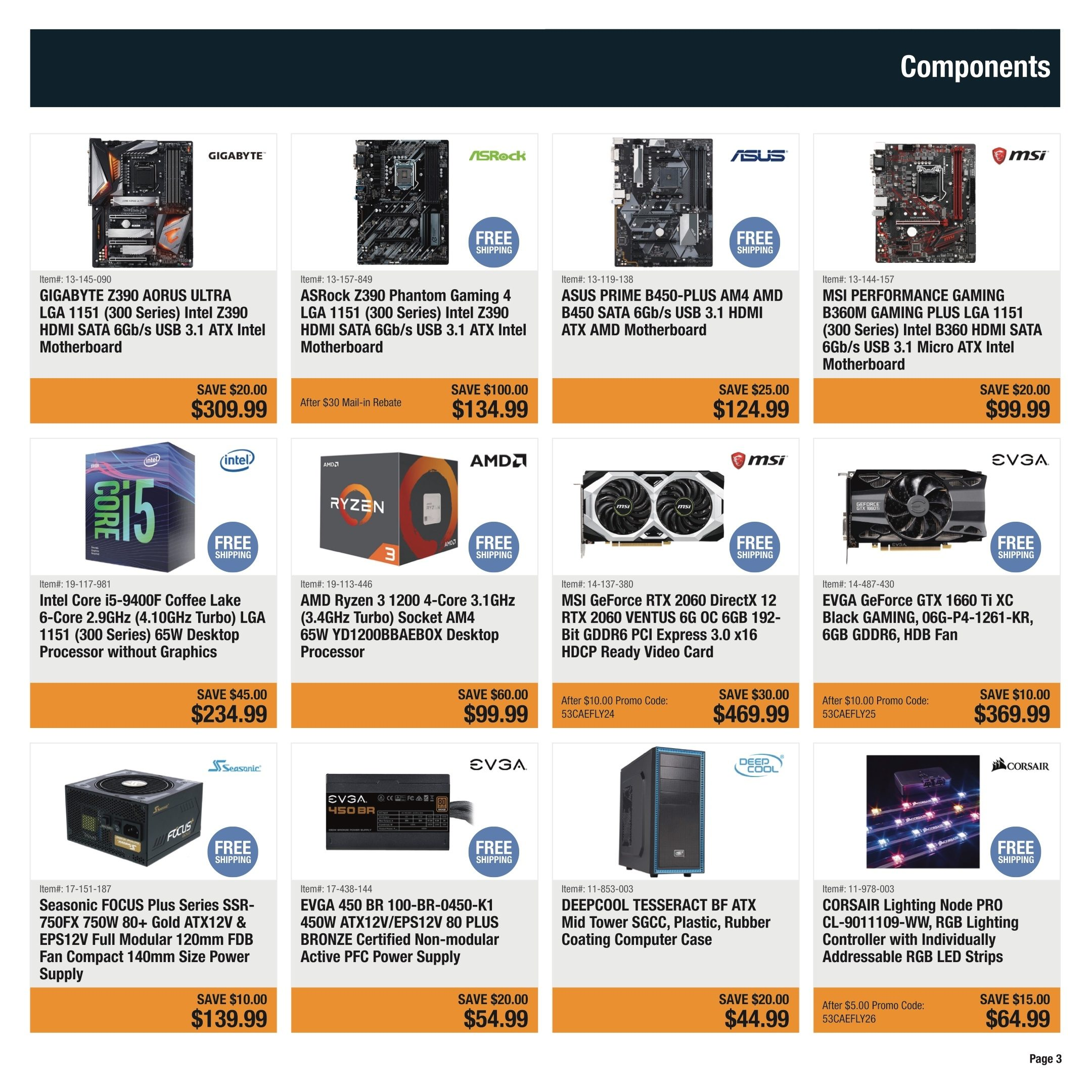 Newegg Weekly Flyer - Shower Mom With Love - May 3 – 9