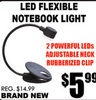 Led Flexible Notebook Light