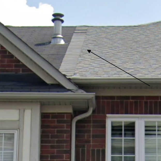 Townhouse Roof Neighbour Not Wanting