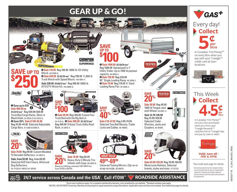 Canadian Tire Weekly Flyer - Weekly - Cheers Canada! - Jun 28 – Jul