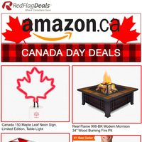 Amazon Canada - Canada Day Deals Flyer