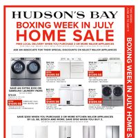 - Boxing Week In July Home Sale Flyer