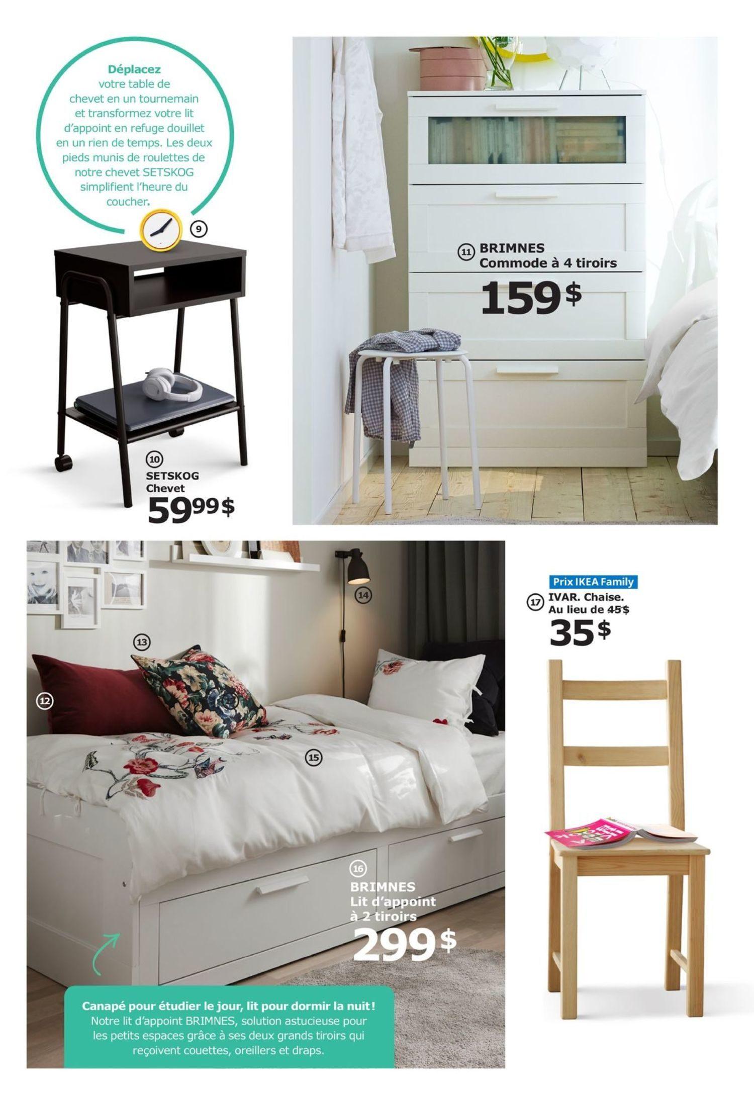 Ikea Weekly Flyer Promo La Rentrée Aug 1 19
