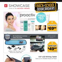 Showcase - Back To School Flyer