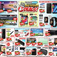 Factory Direct - Weekly - Back To School A+ Deals! Flyer