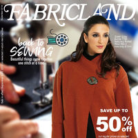 Fabricland - Back To Sewing Sale Flyer