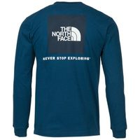 The North Face Long-Sleeve Red Box Tee