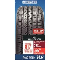 MotoMaster SE3 All-Season Tire