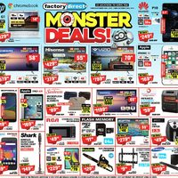 Factory Direct - Monster Deals! Flyer