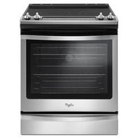 Whirlpool Stainless Steel True Convection Slide-in Range