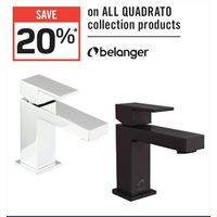 Belanger All Quadrato Collection Products