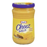 Kraft Singles Processed Cheese or Cheez Whiz
