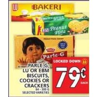 Parle-G, Lu Or EBM Biscuits, Cookies Or Crackers